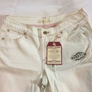 US Polo Association Jeans - Boot Cut, White